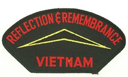Reflection and Remembrance Vietnam Patches